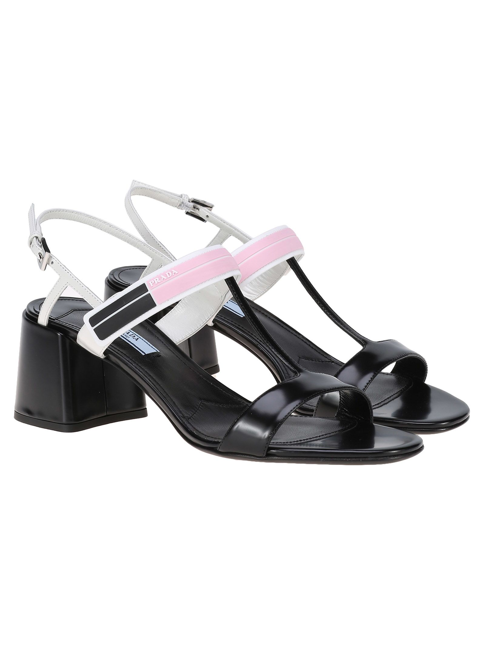 Prada Two Tone Sandals