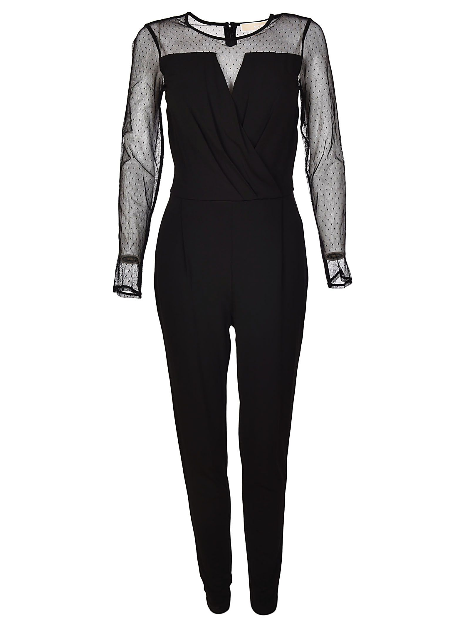 Michael Kors Meshed Top Jumpsuit