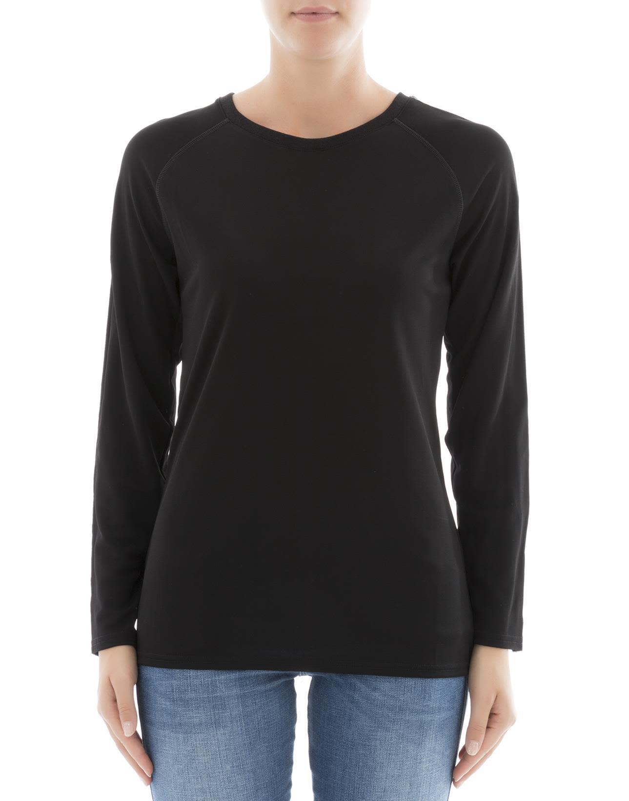 Black Viscose Sweatshirt