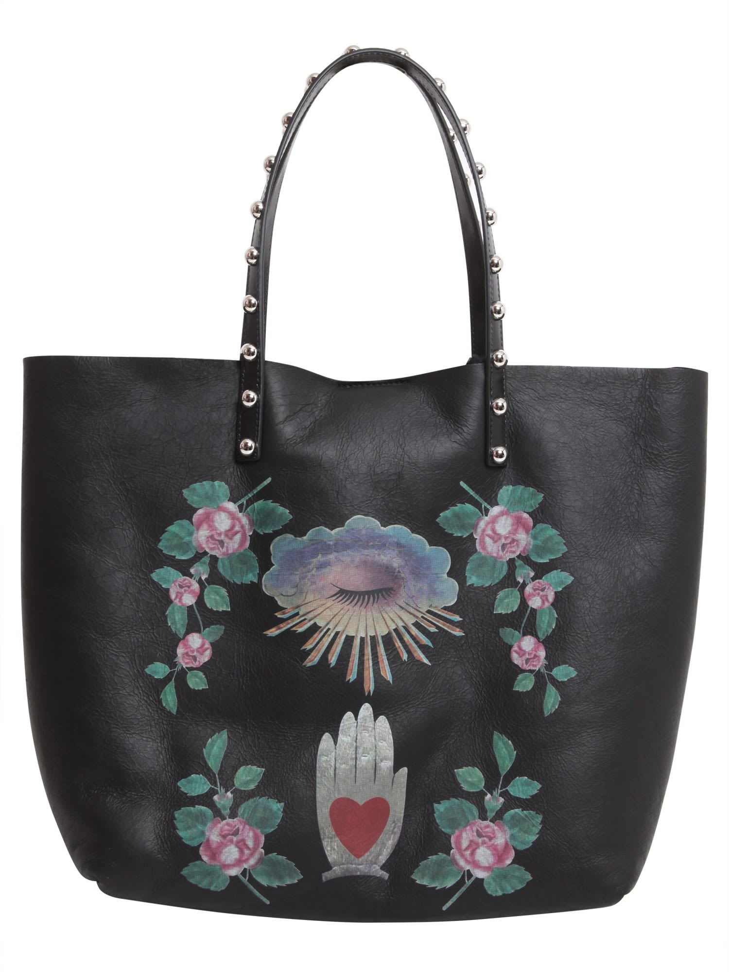 Gothic Amulets Print Tote Bag