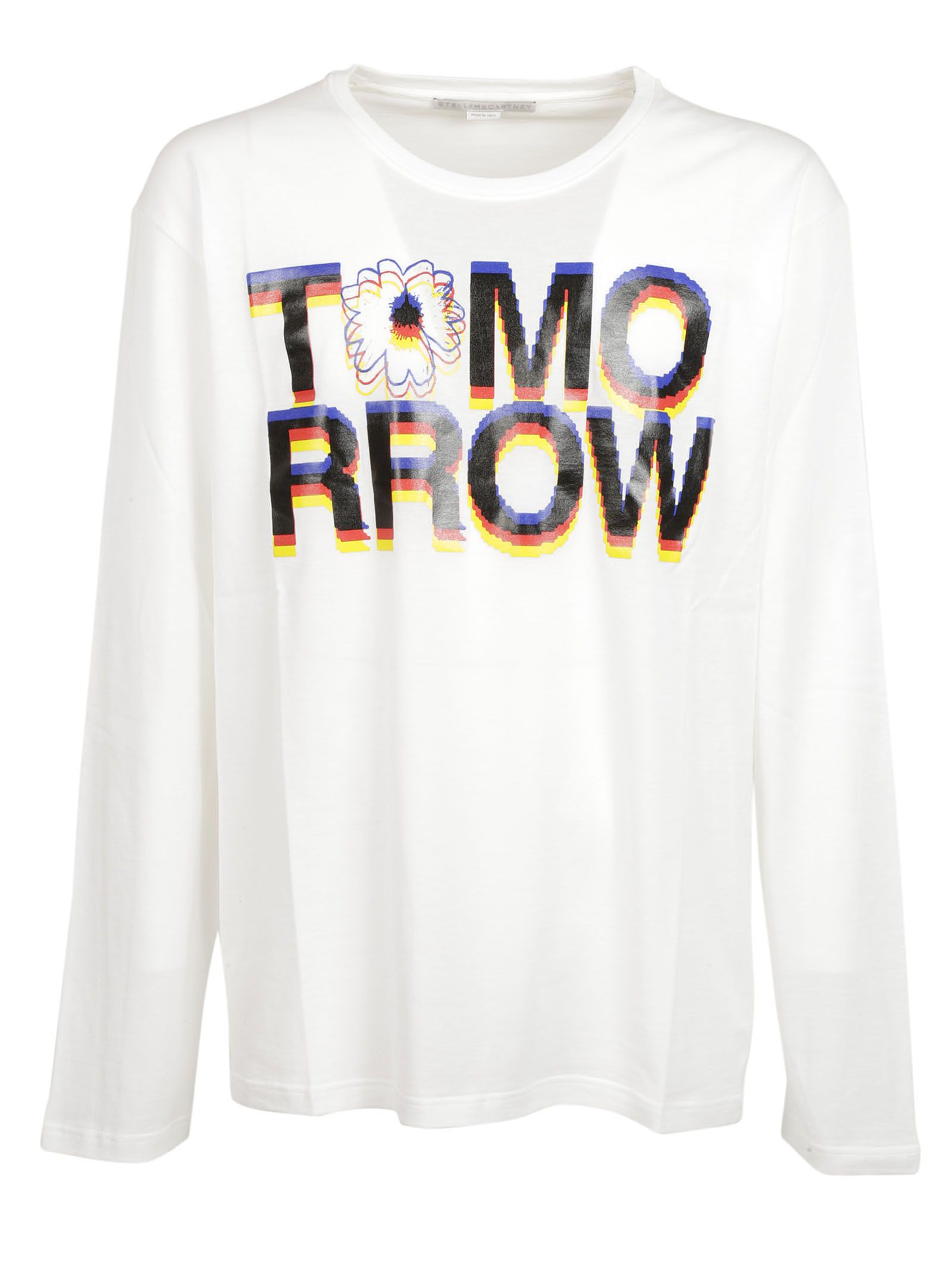 Stella Mccartney: White Tomorrow Sweatshirt