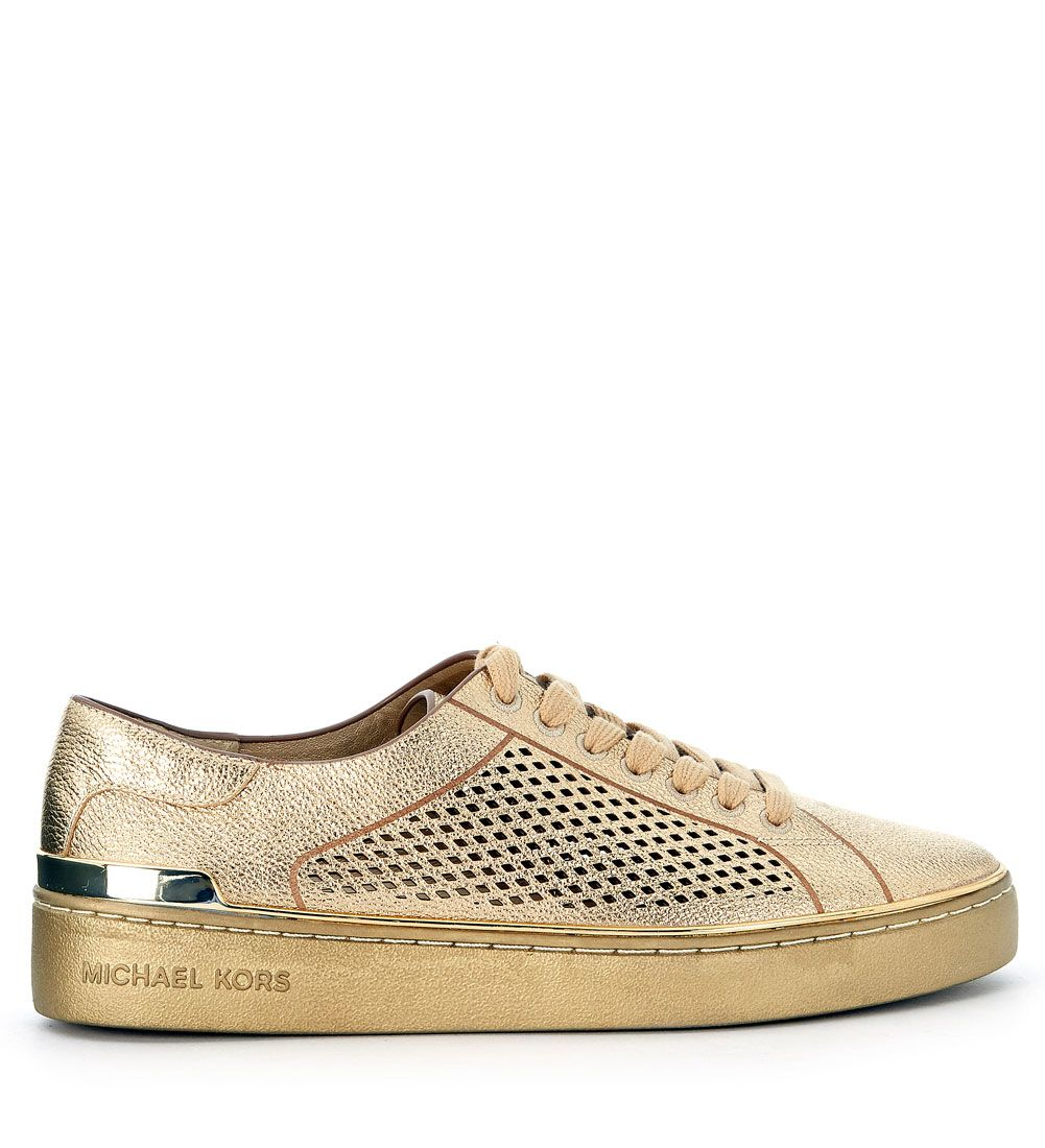 Sneaker Michael Kors Tilda Golden Leather Sneaker