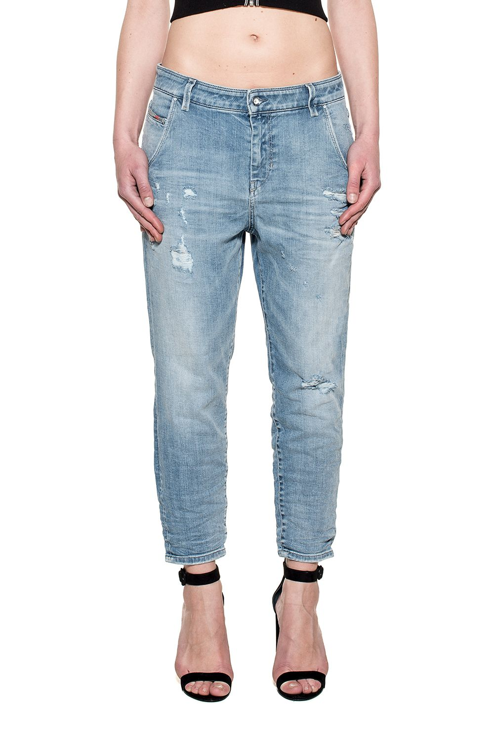 Light Blue Fayza-evo Denim Jeans