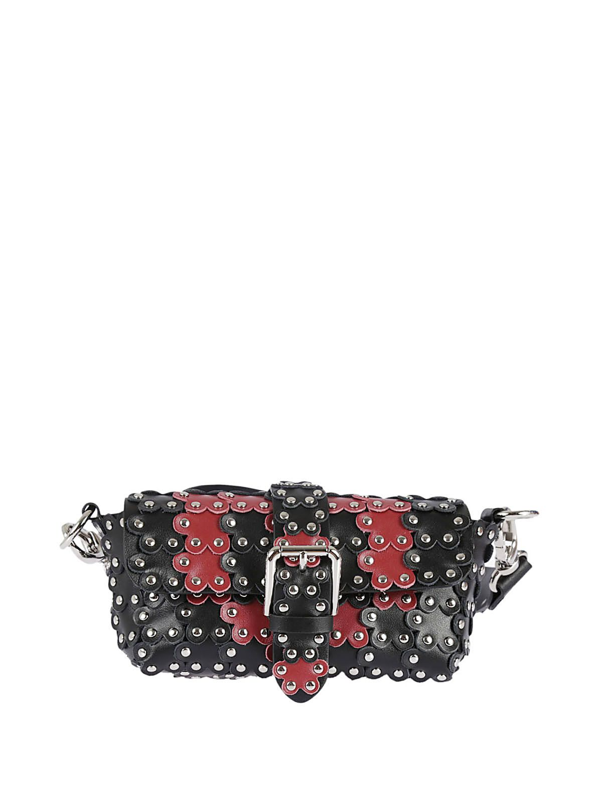 Red Valentino Studded Shoulder Bag