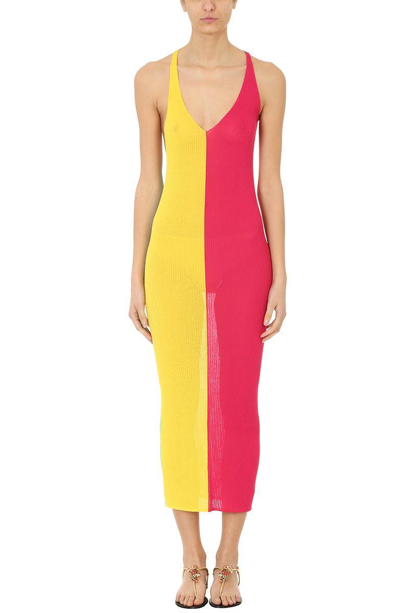 Diane Von Furstenberg Cross Back Knit Dress