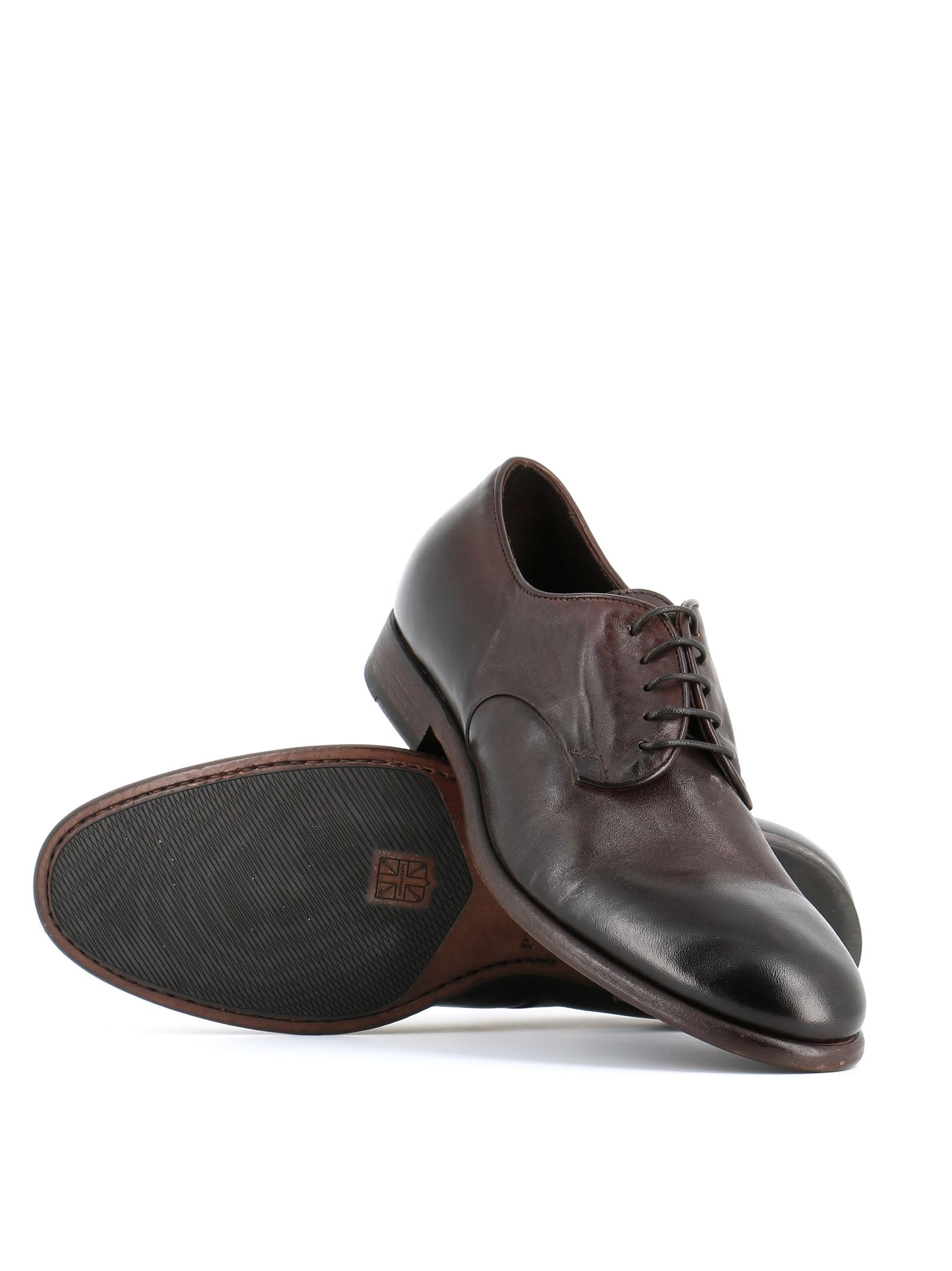 Pantanetti 10942e Smooth Derby Shoes