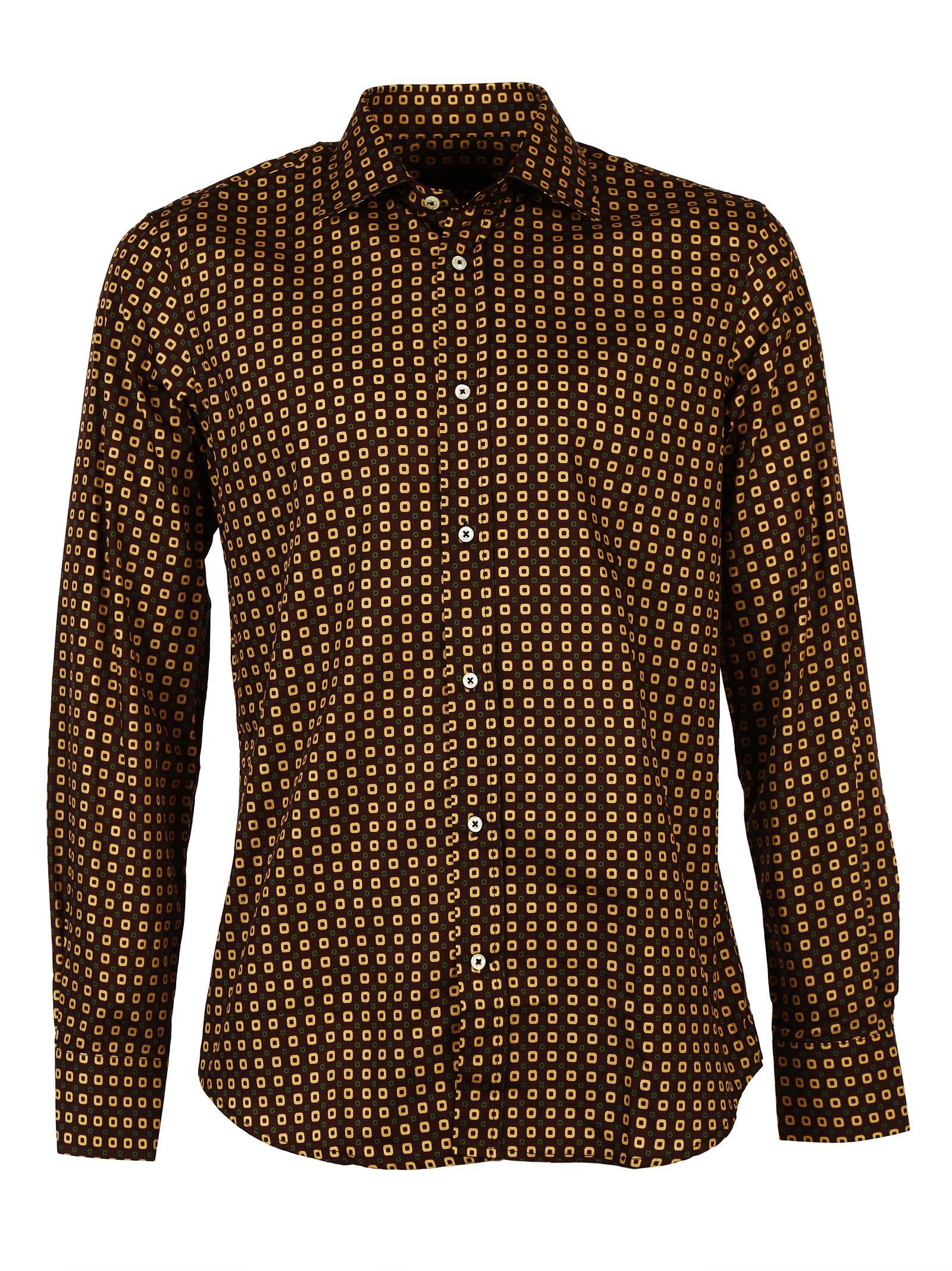 Luchino Camicie Cotton Slimfit Shirt