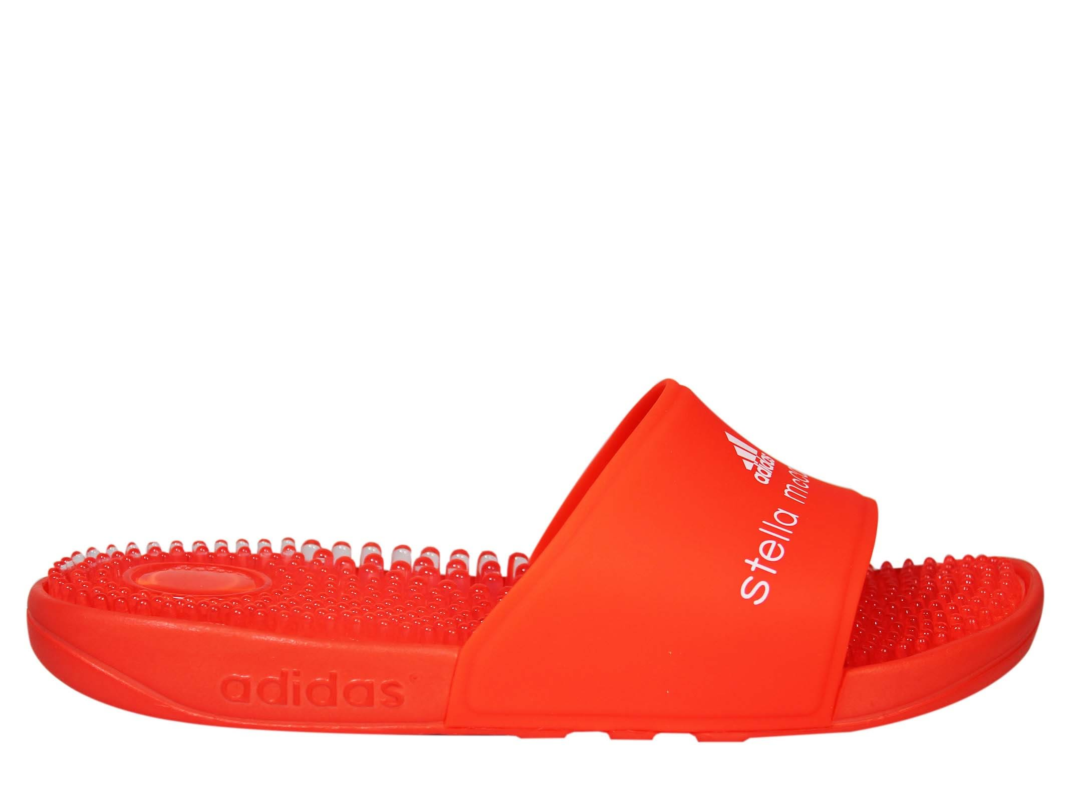 Adidas by Stella McCartney Red Adissage Sliders