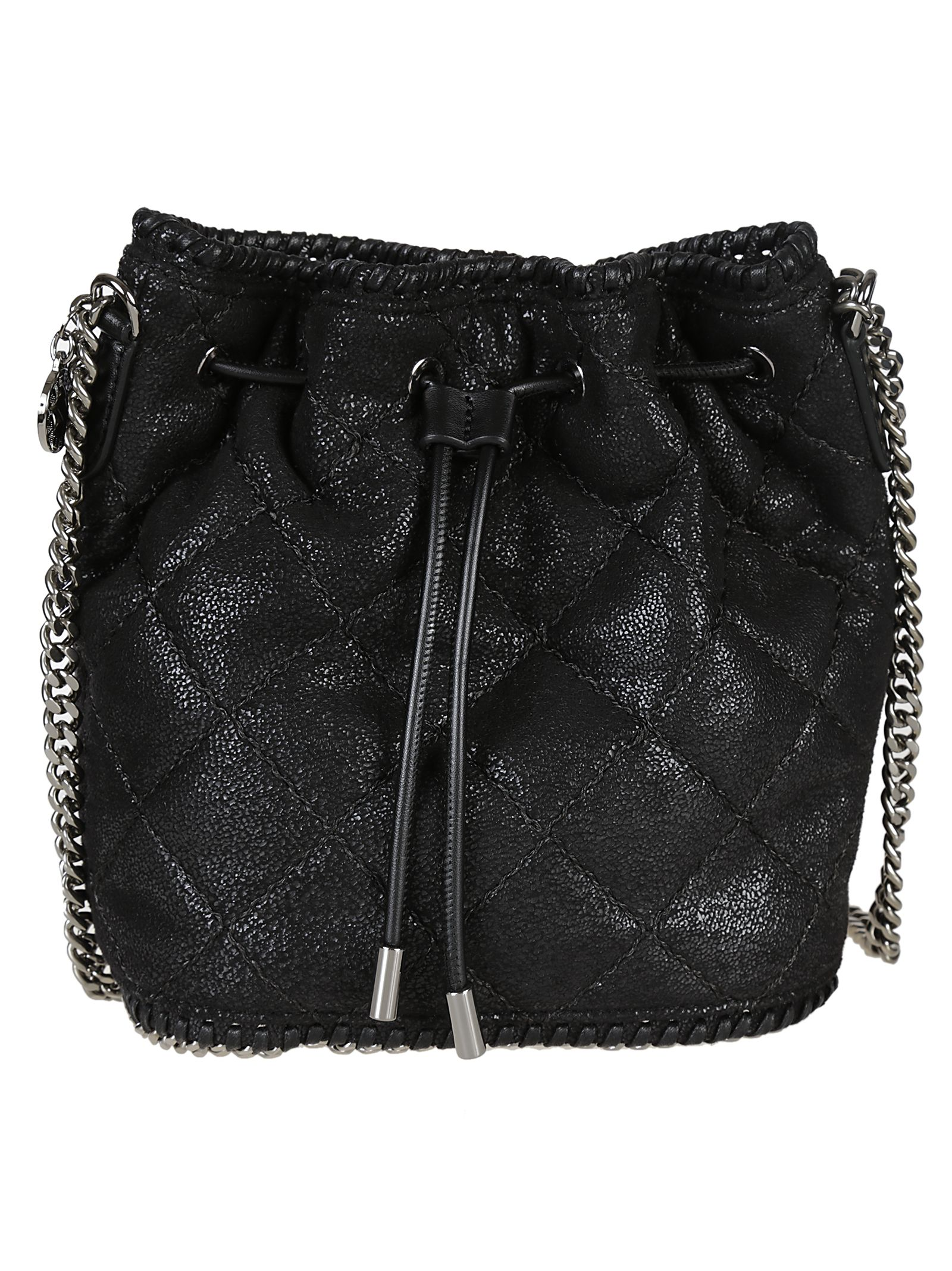Stella McCartney Quilted Small Bucket Bag