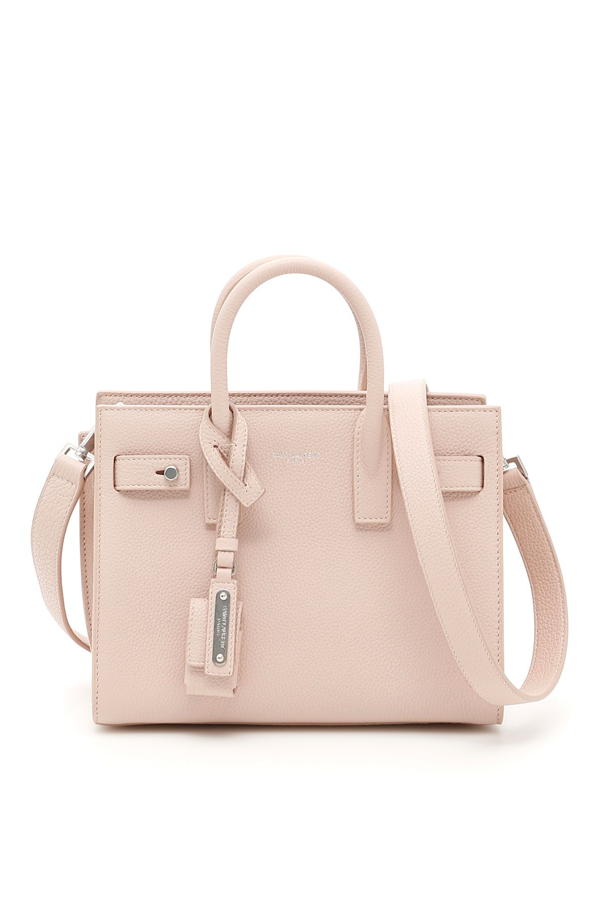 Saint Laurent Nano Sac De Jour Bag In Marble Pinkrosa  3d1a38f76bb73