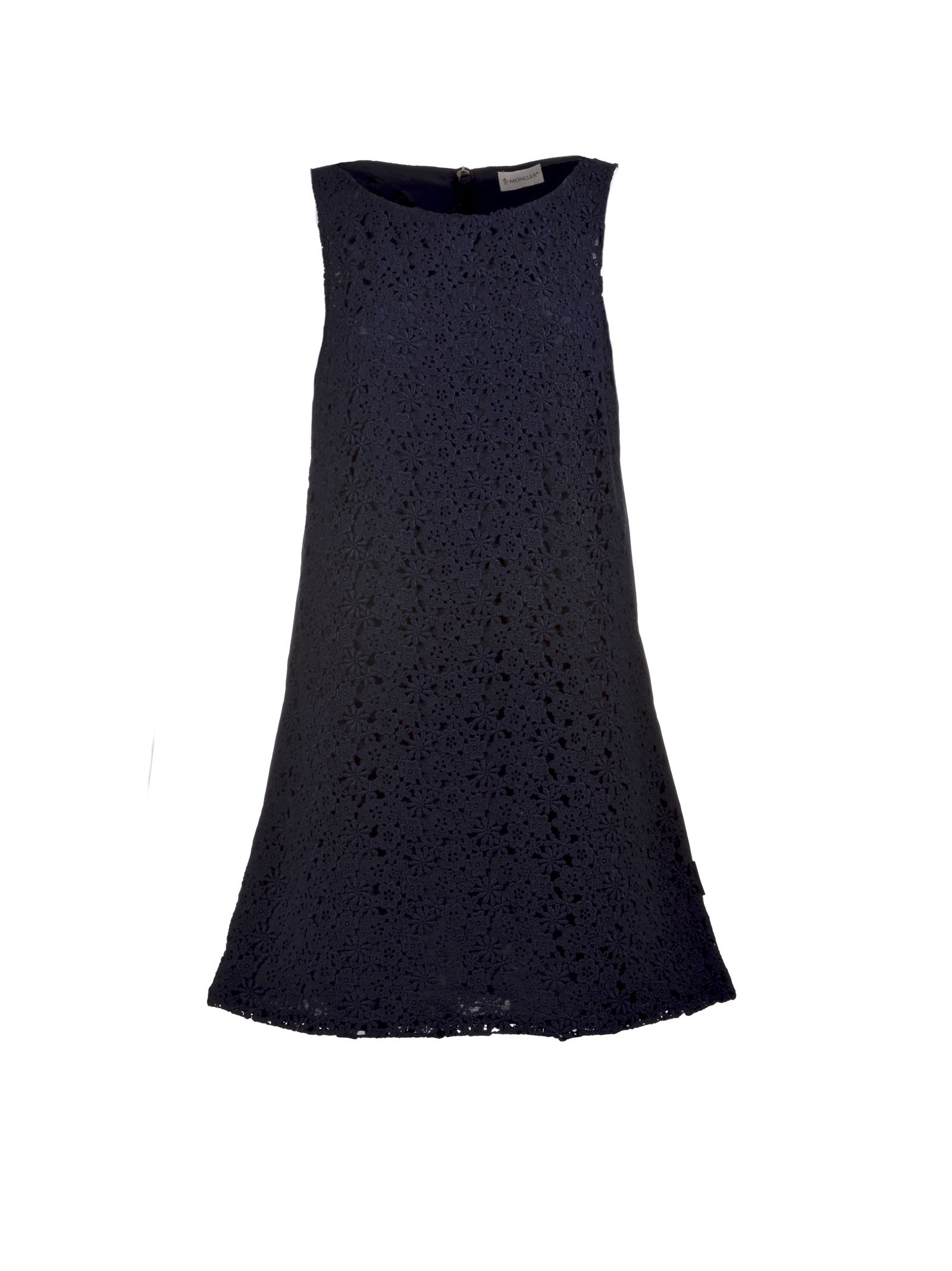 Moncler Floral Lace Shift Dress