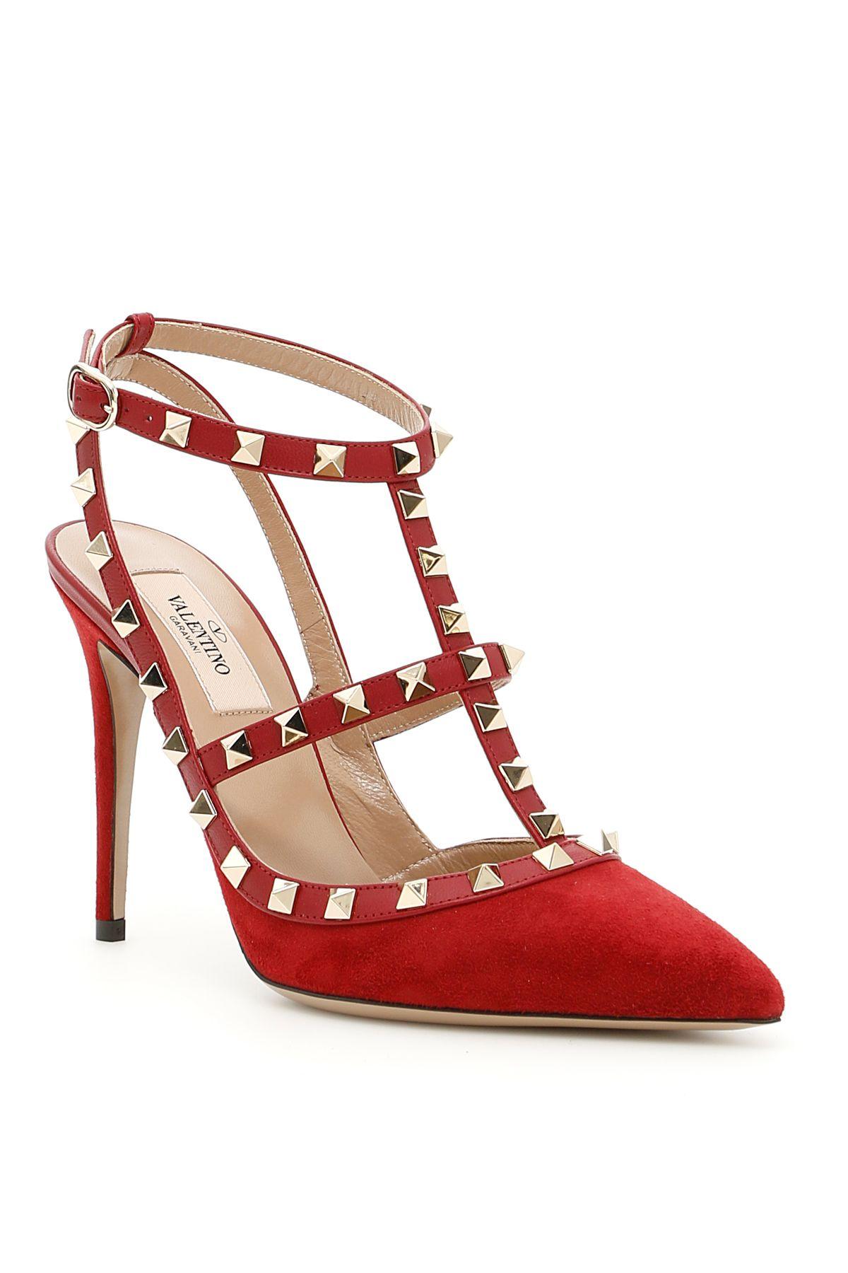 Rockstud Ankle Straps