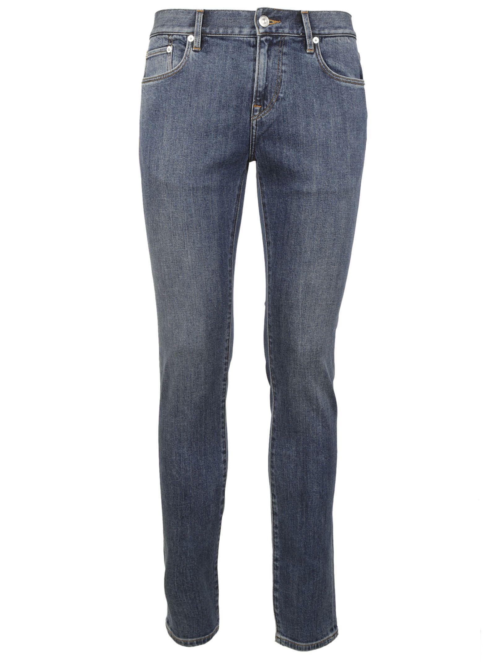 Burberry Straight Leg Jeans