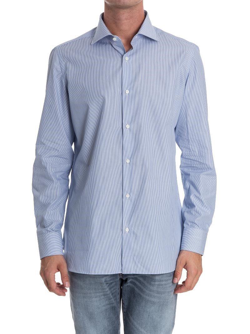 Luigi Borrelli Striped Shirt