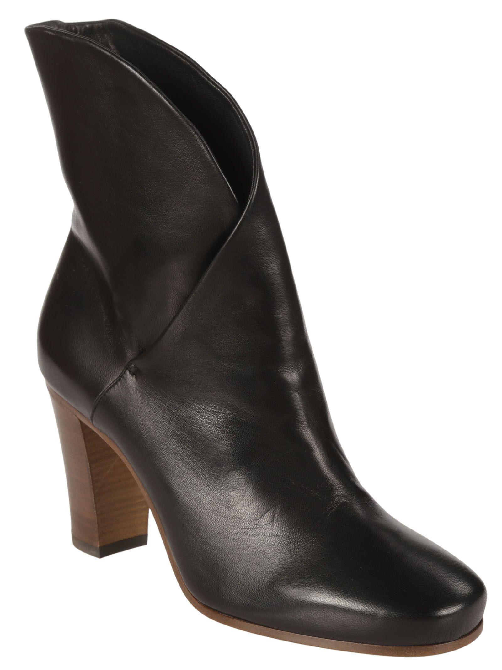 Celine - Celine Leather Ankle Boots