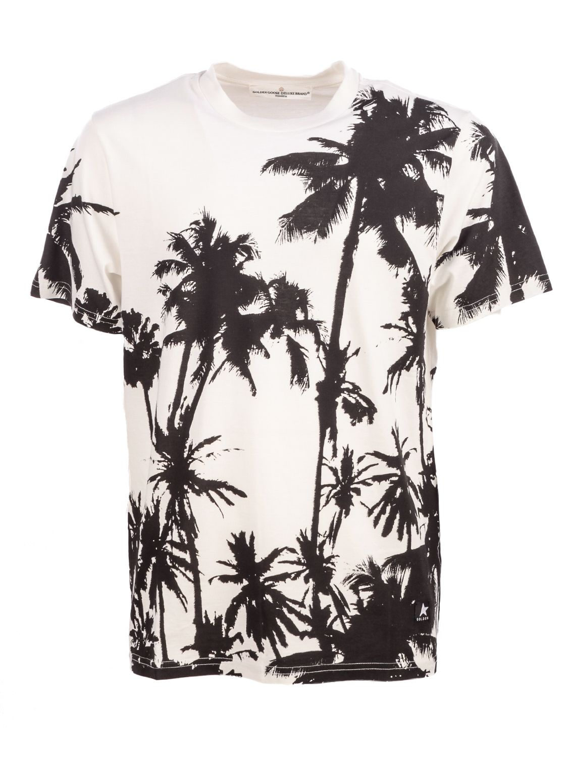 Golden Goose Palm Tree Print T-Shirt