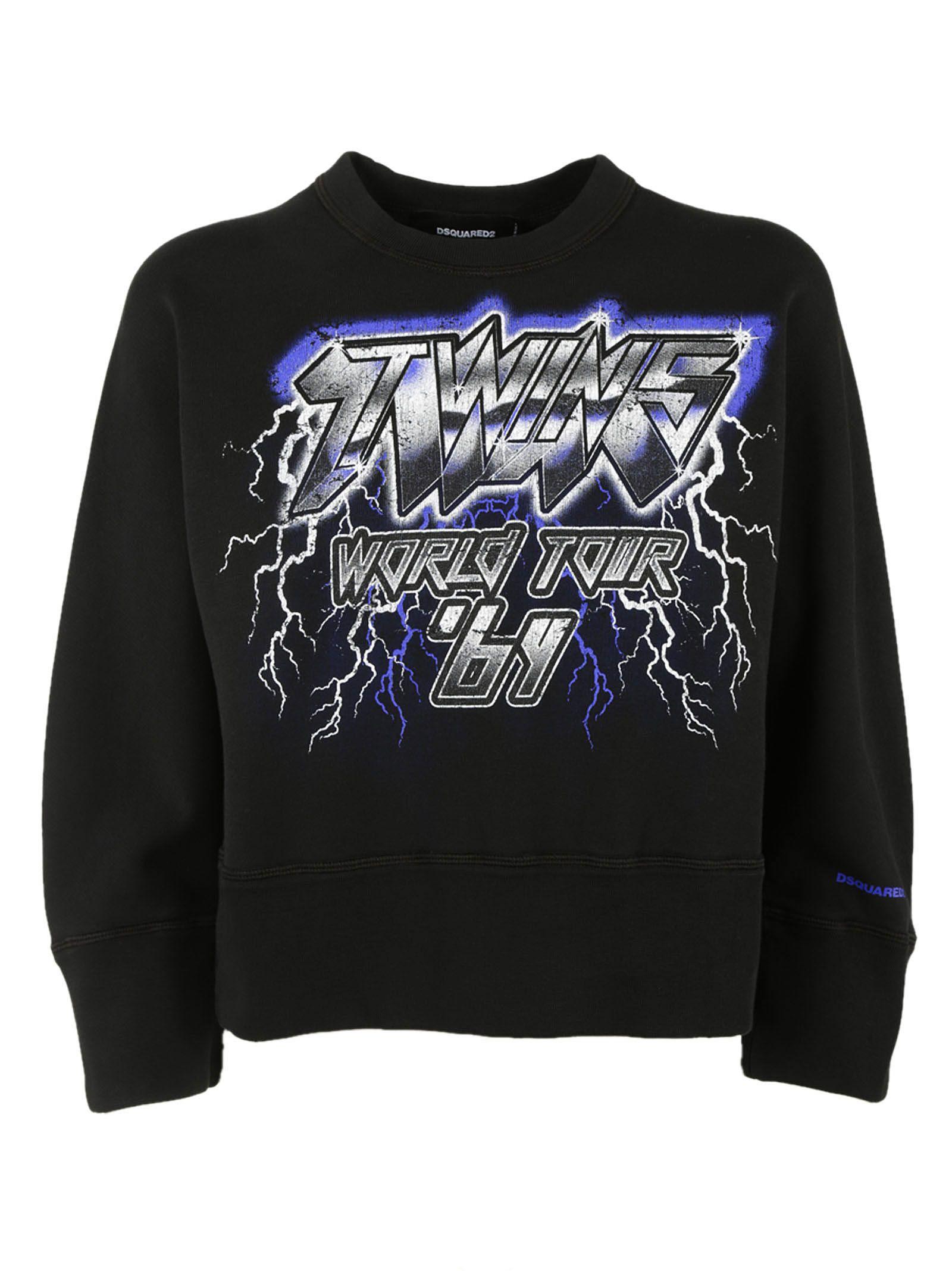 Dsquared2 Twins World Tour Sweatshirt