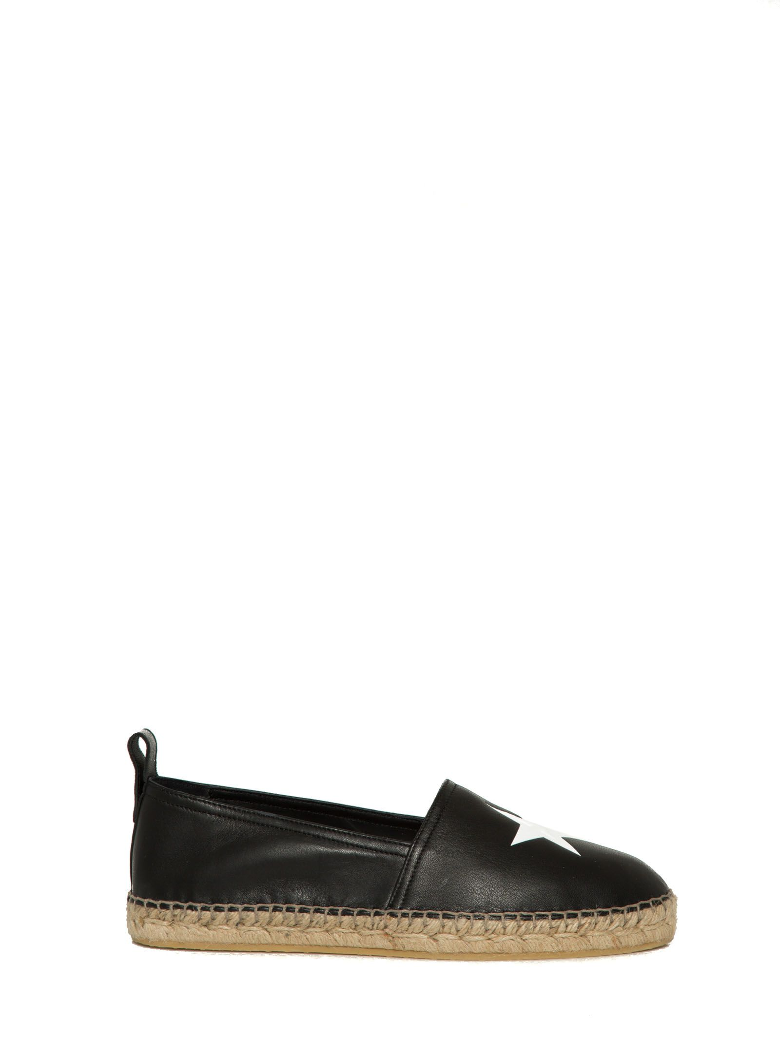 Givenchy Espadrilles In Leather With Star