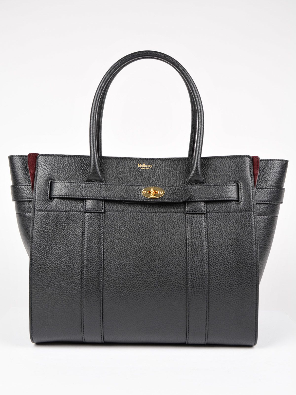 mulberry mulberry bayswater tote black womens totes