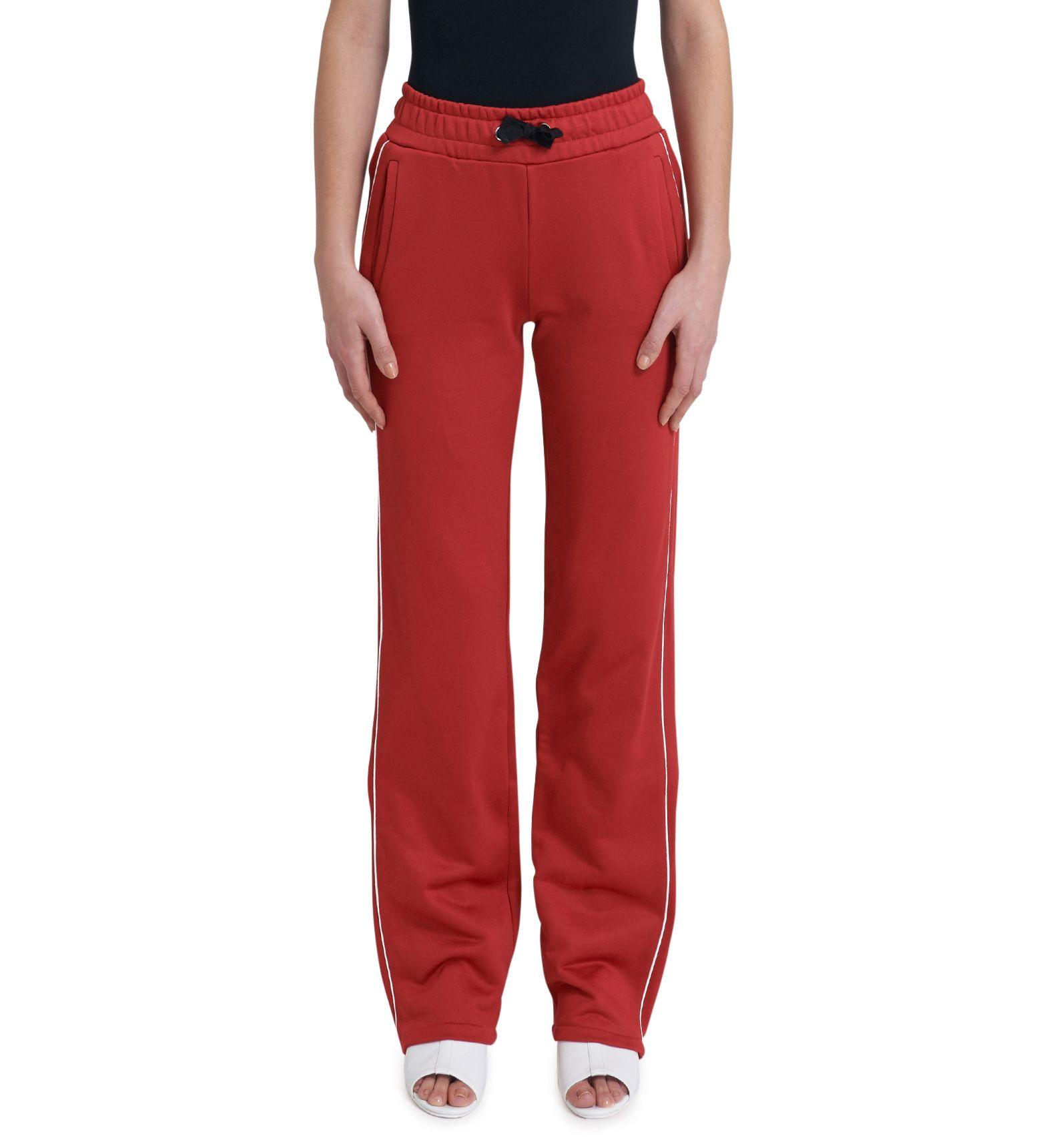 Red Long Pants