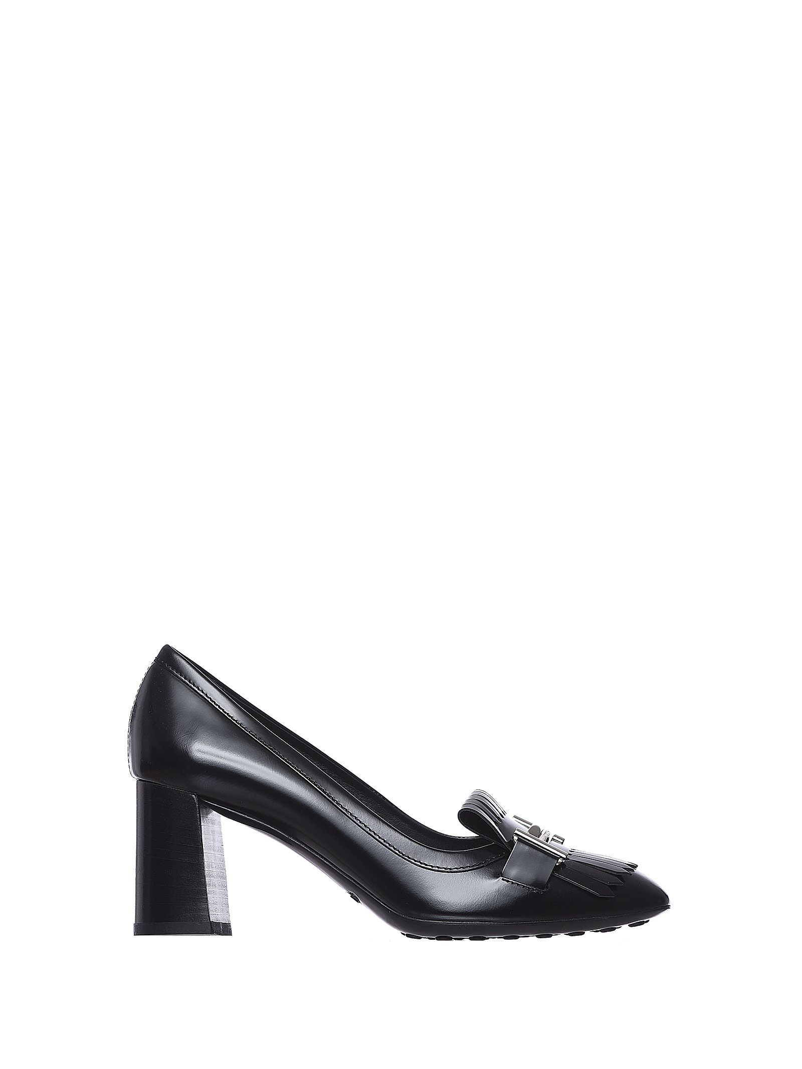 Tods Mid-heel Loafer Black