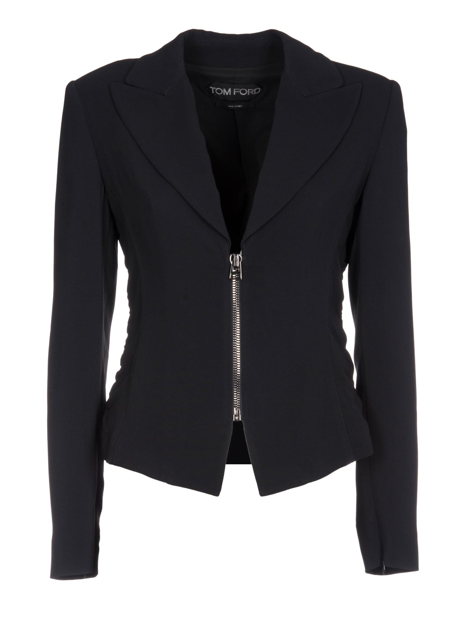 Tom Ford Zipped Fitted Blazer
