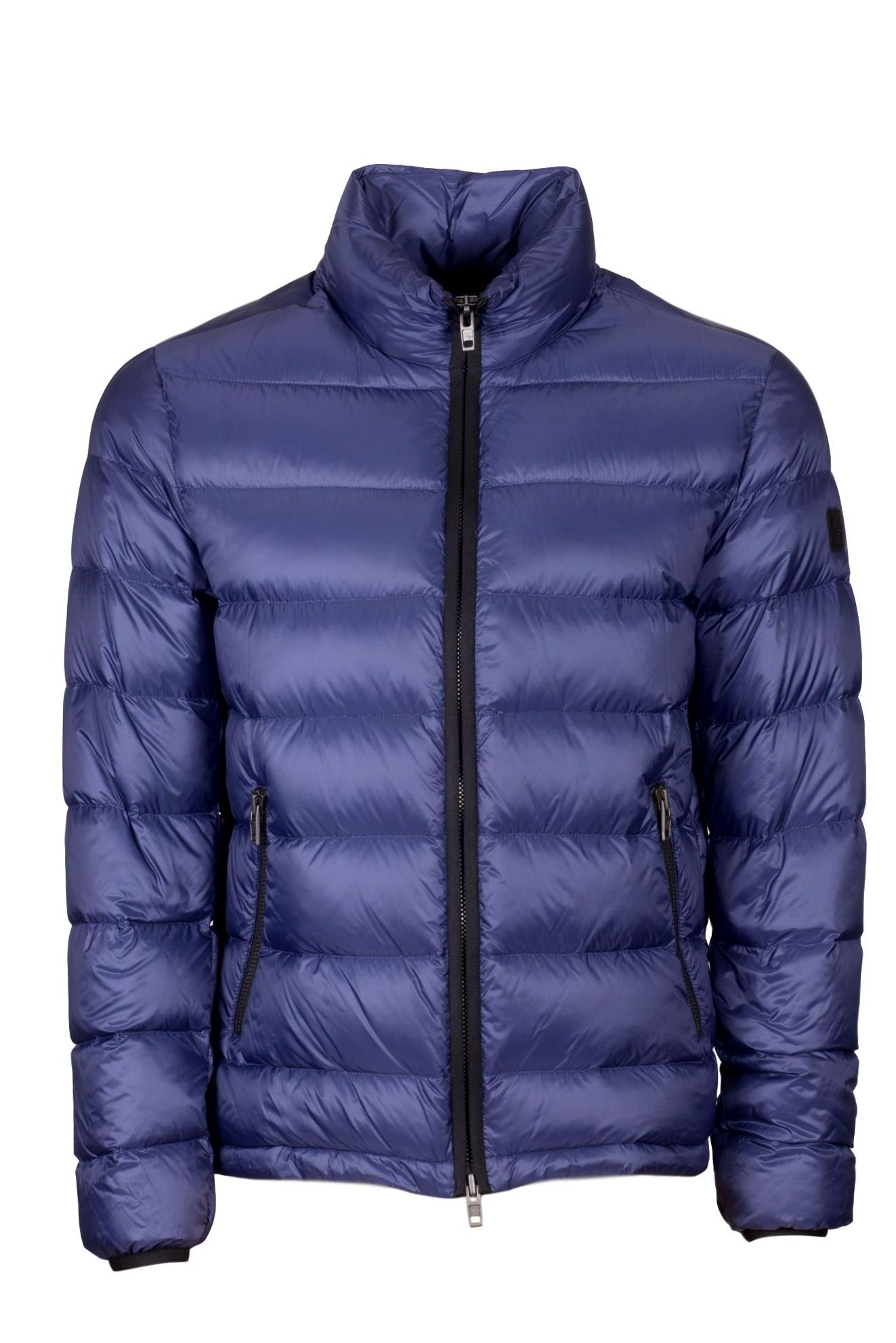 Matte Nylon Quilted Padded Jacket
