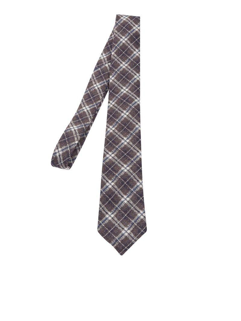 Luigi Borrelli Diamond Pattern Tie