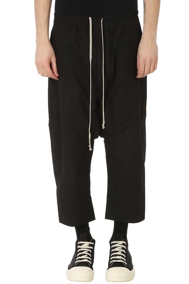 DRKSHDW Black Cotton Pants