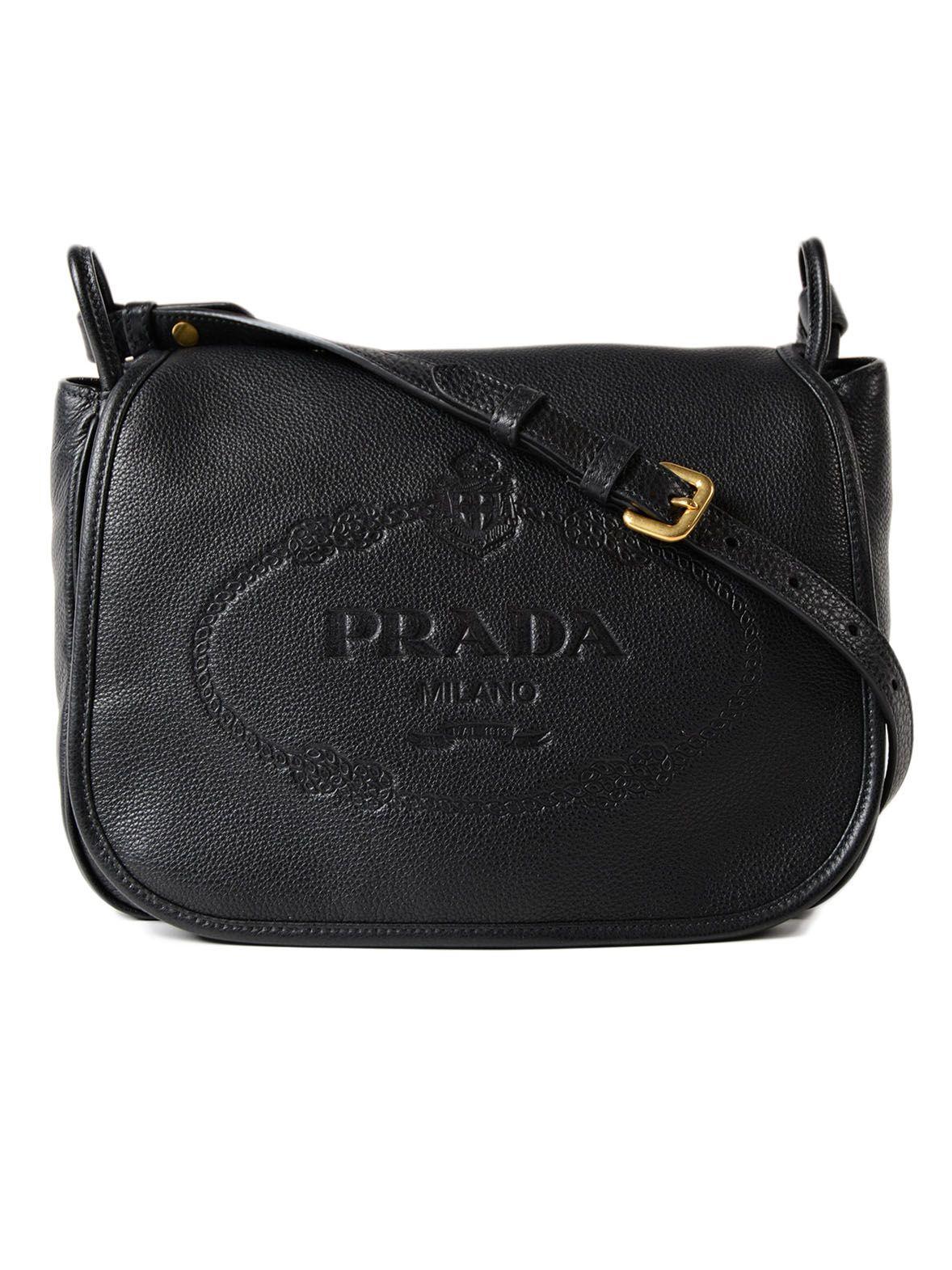 Prada Vit. daino Shoulder Bag