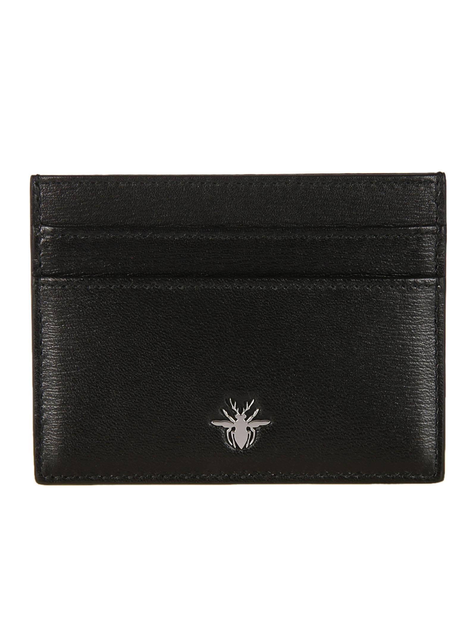 Dior Homme Bee Signature Card Holder