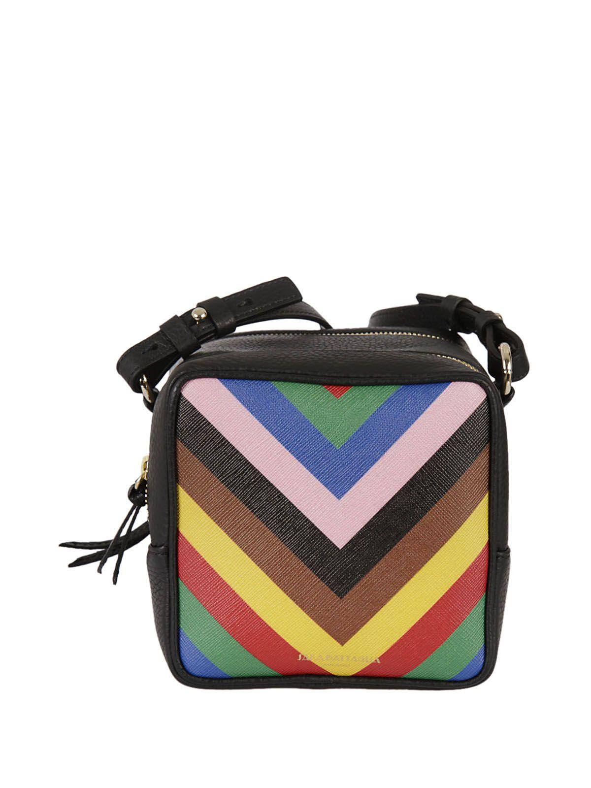 75bb2c791b Sara Battaglia Striped Shoulder Bag In Multicolor