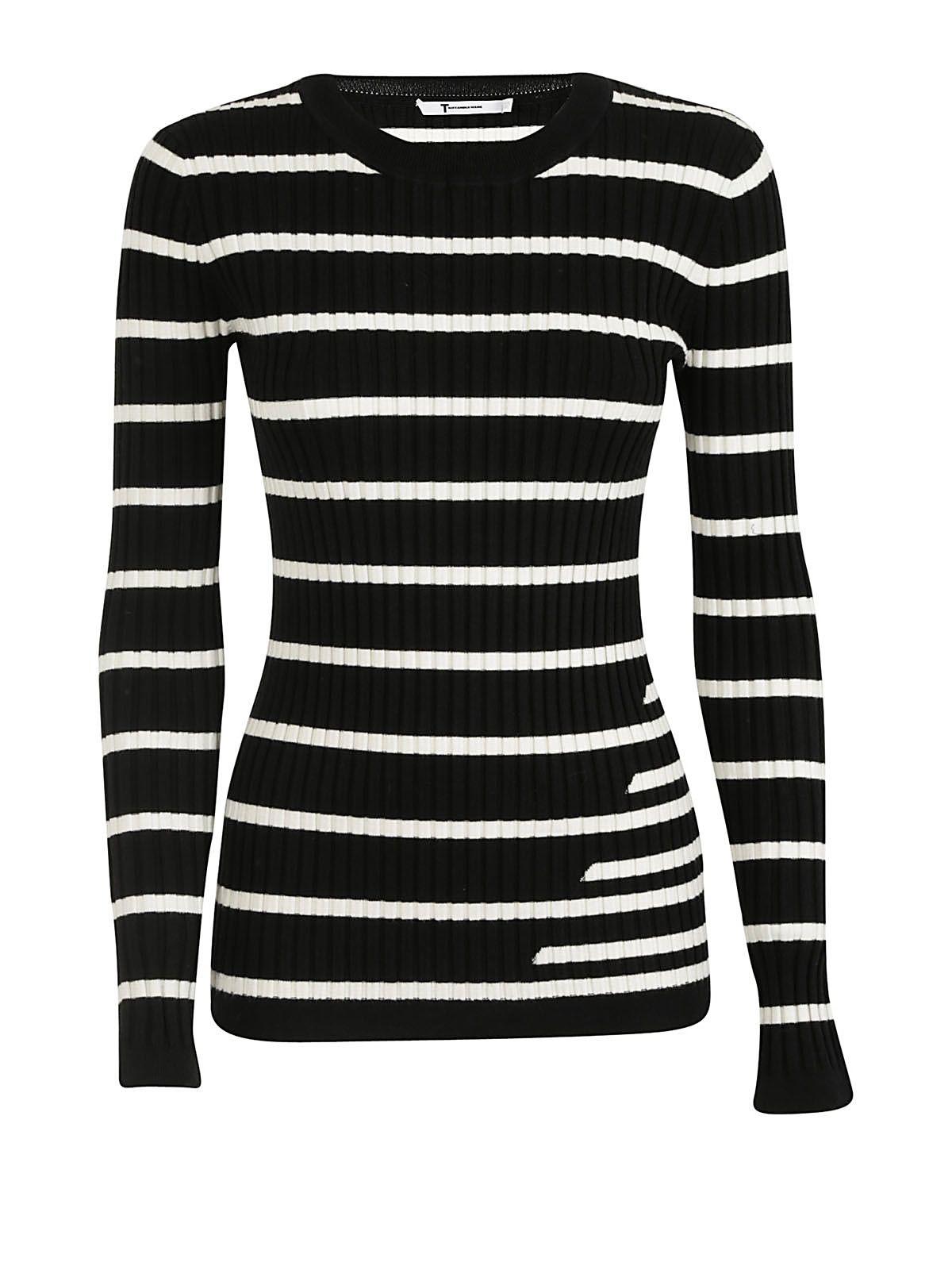 Alexander Wang Striped Knit Sweater