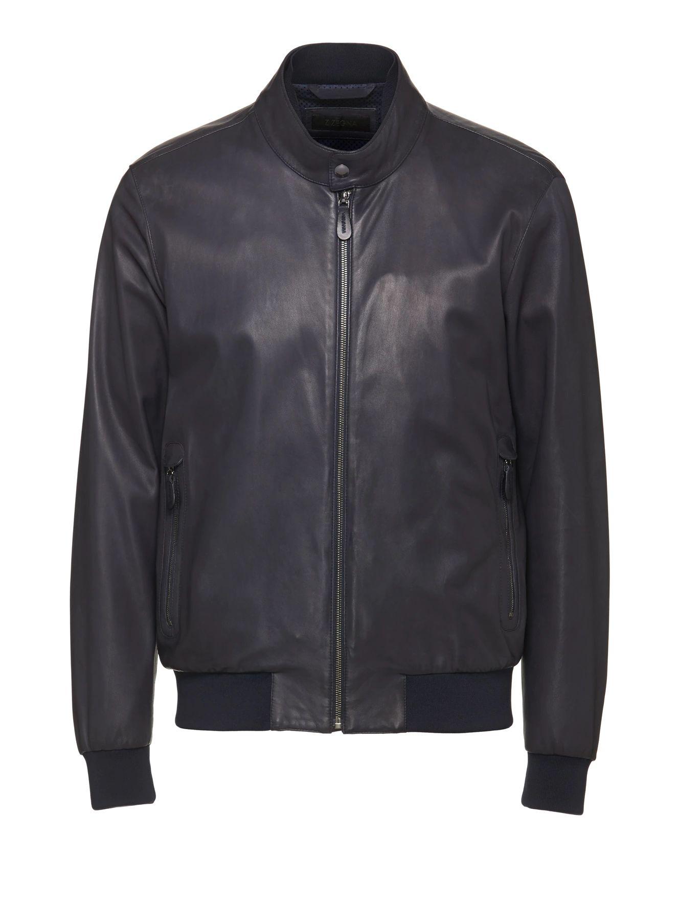 Z Zegna Leatherouterwear