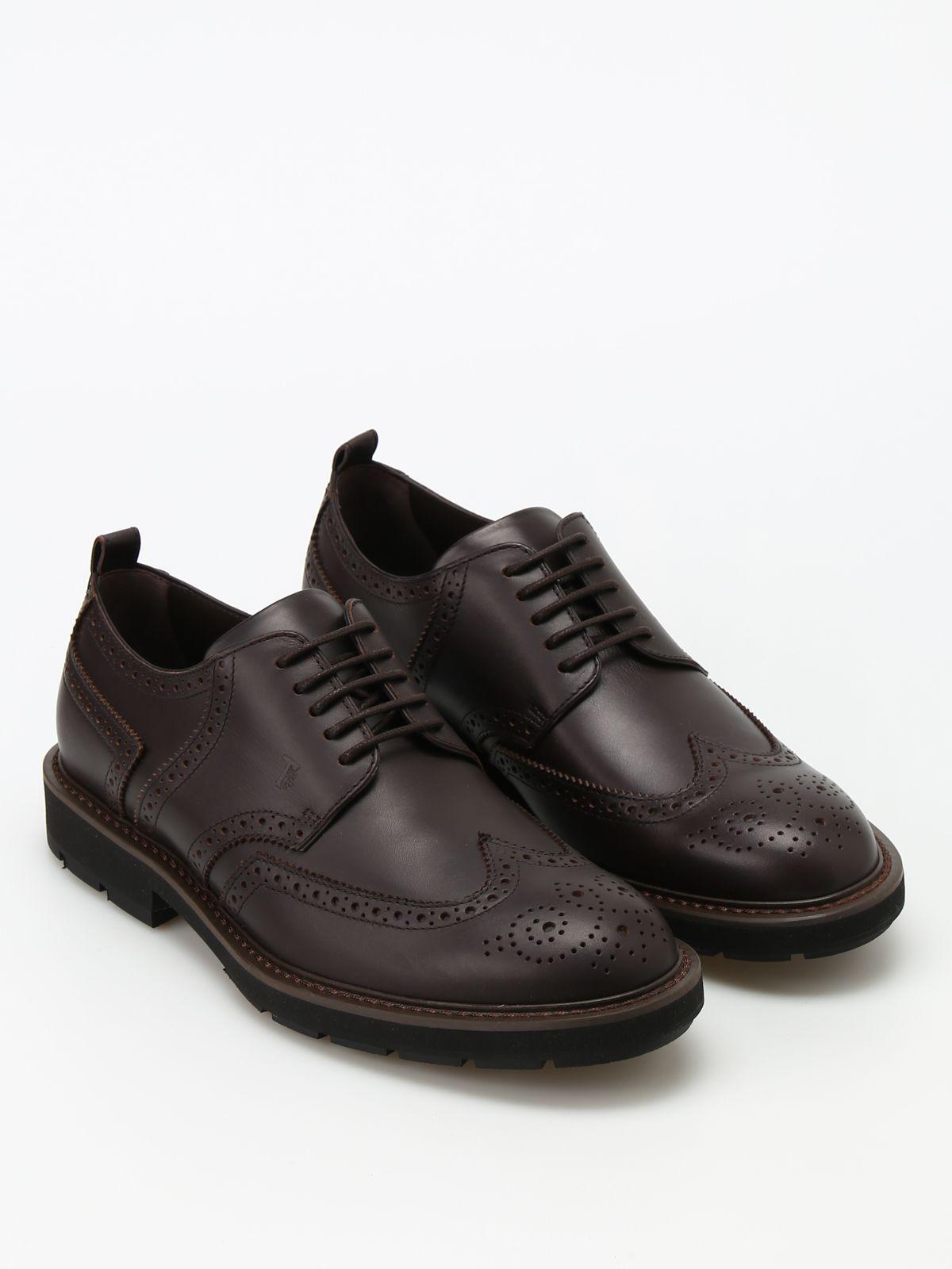Leather Derby Brogues
