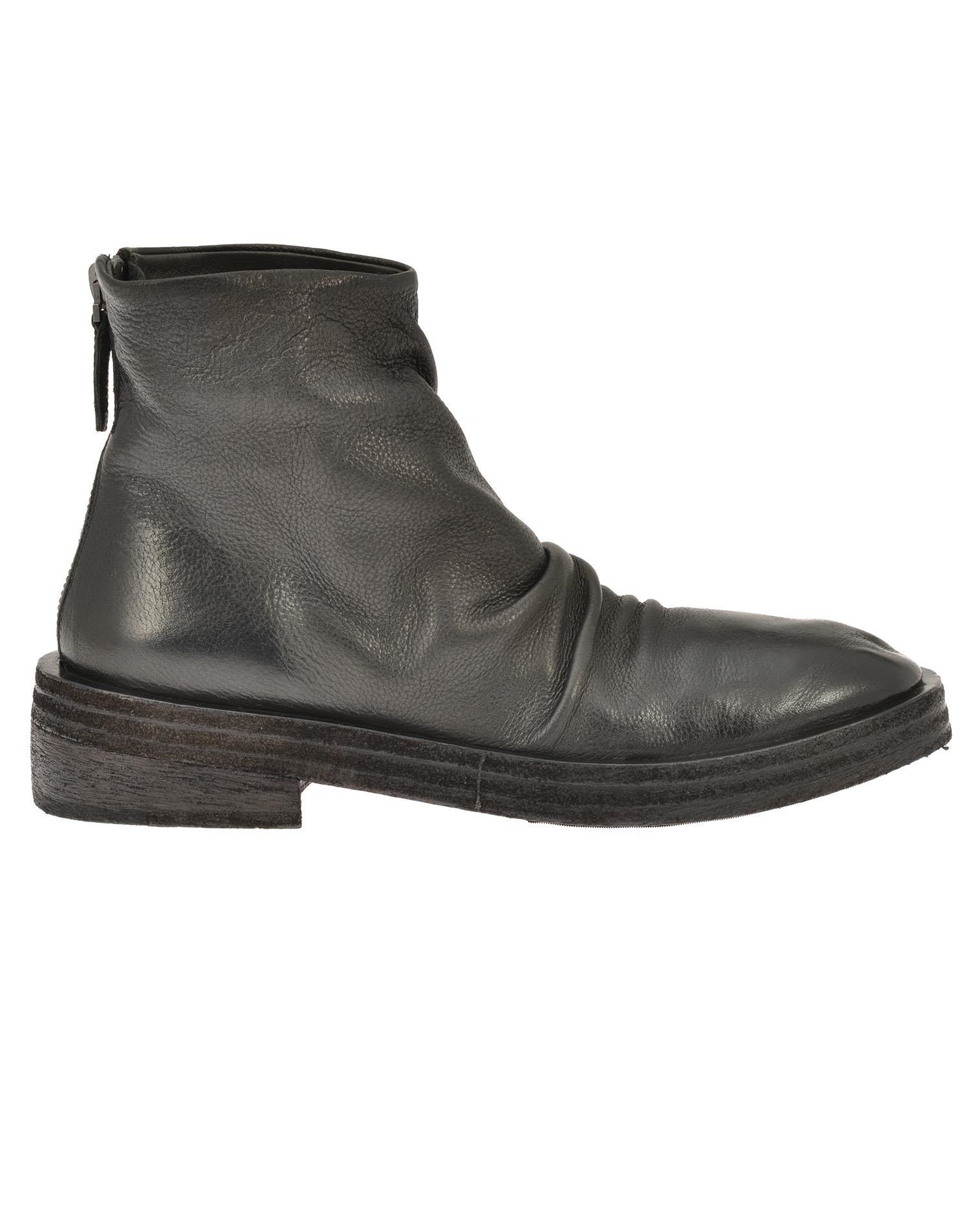 Marsell Leather Ankle Boot