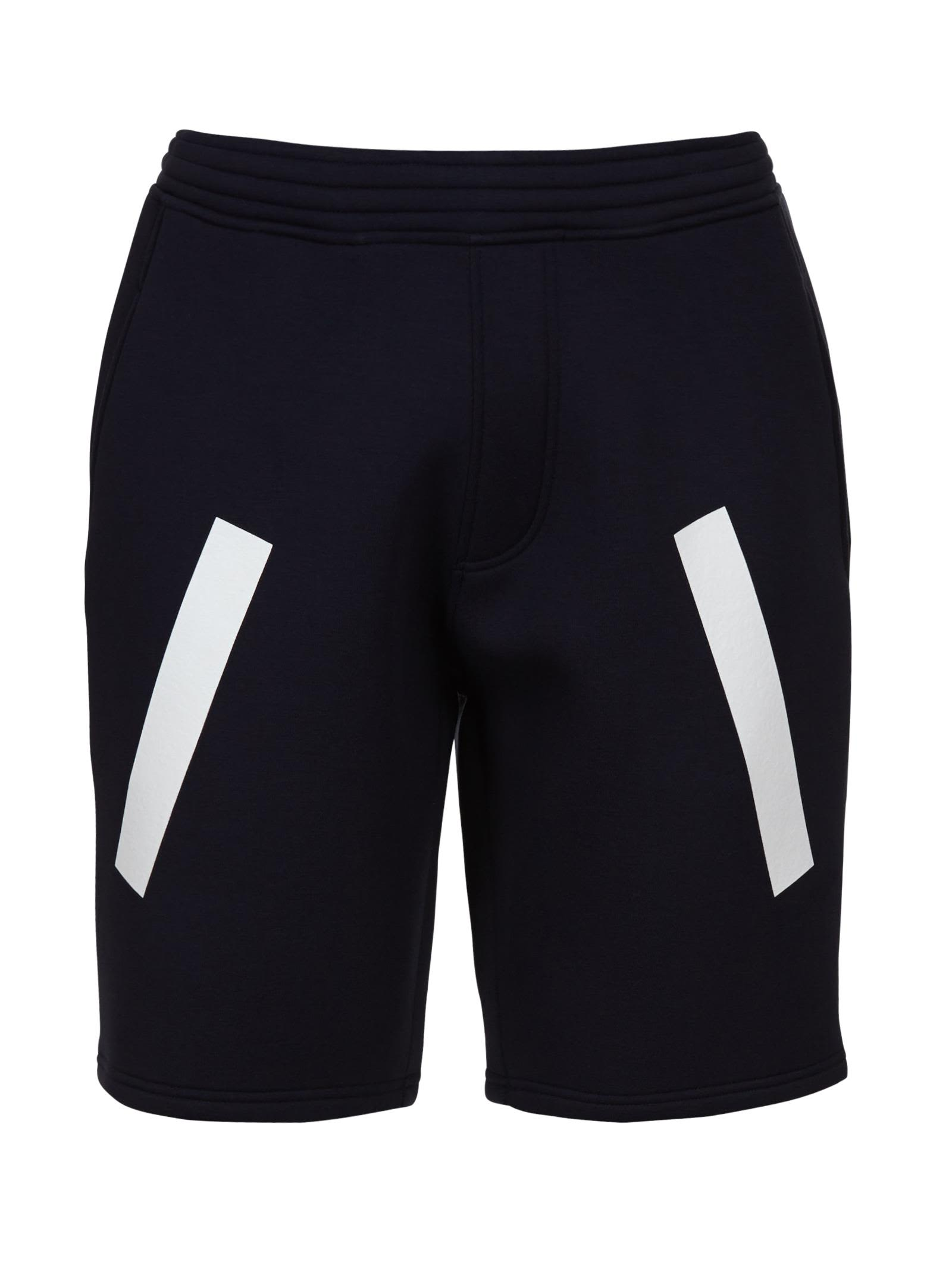 Neil Barrett Stripe Panel Shorts