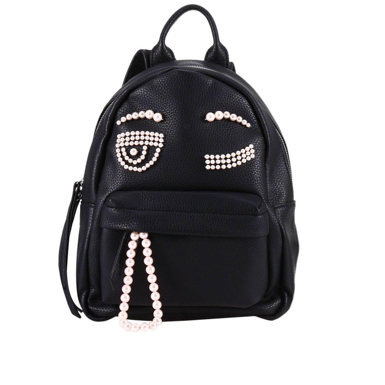 Backpack Shoulder Bag Women Chiara Ferragni