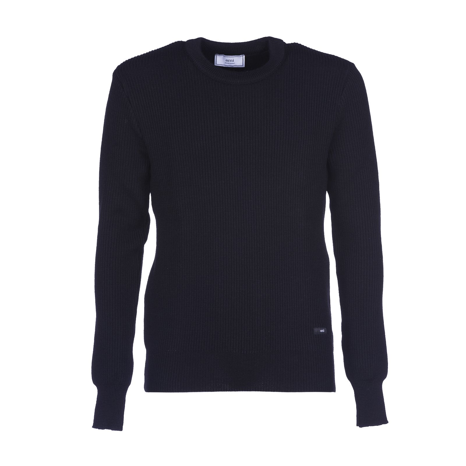 Ami Alexandre Mattiussi Fisherman Rib Crew Neck Sweater