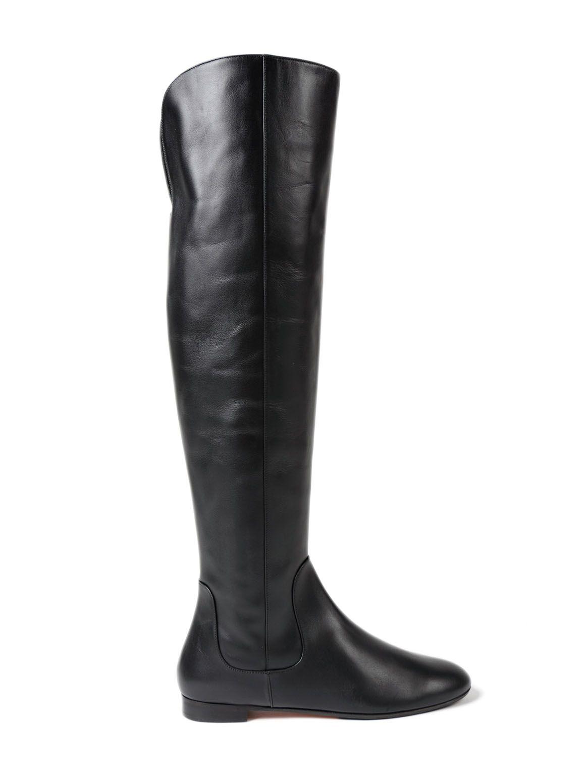 Aquazzura Rider Boot Flat