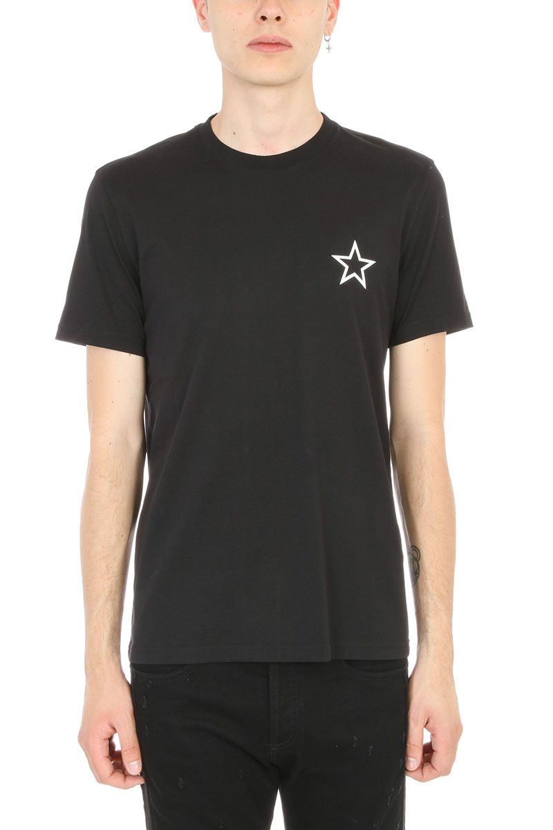 Givenchy cuban star printed cotton jersey t shirt black Givenchy t shirt price