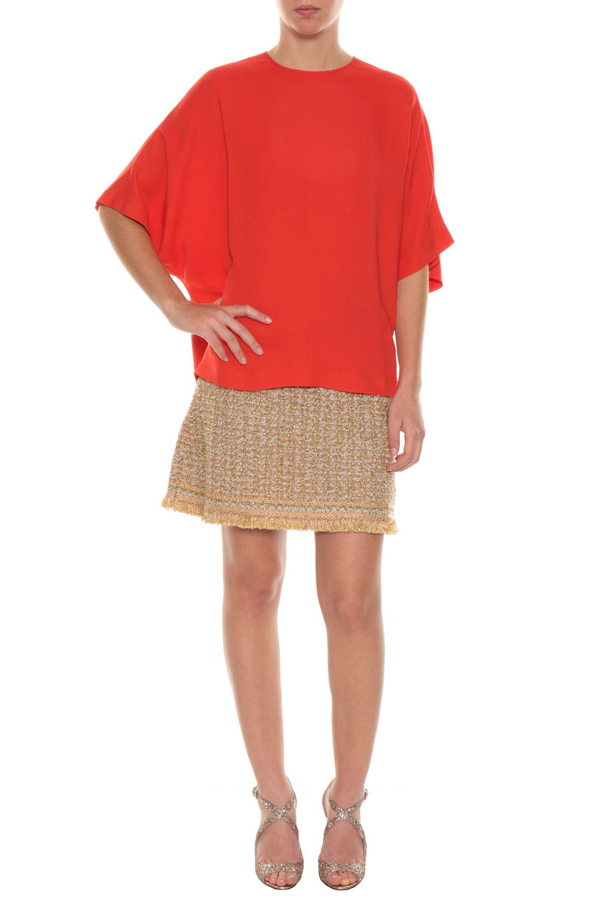 M Missoni M Missoni Blouse With Short Sleeves