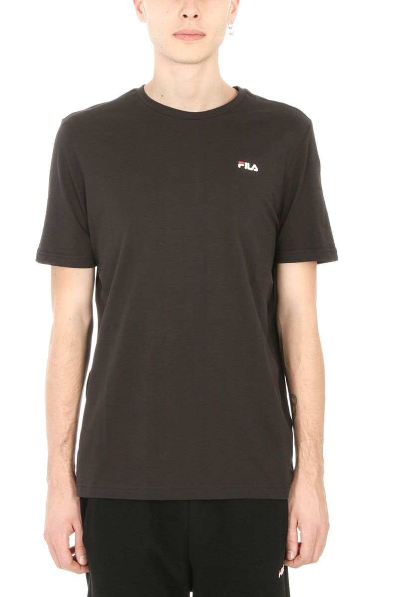 Fila Grey Logo Cotton T-shirt