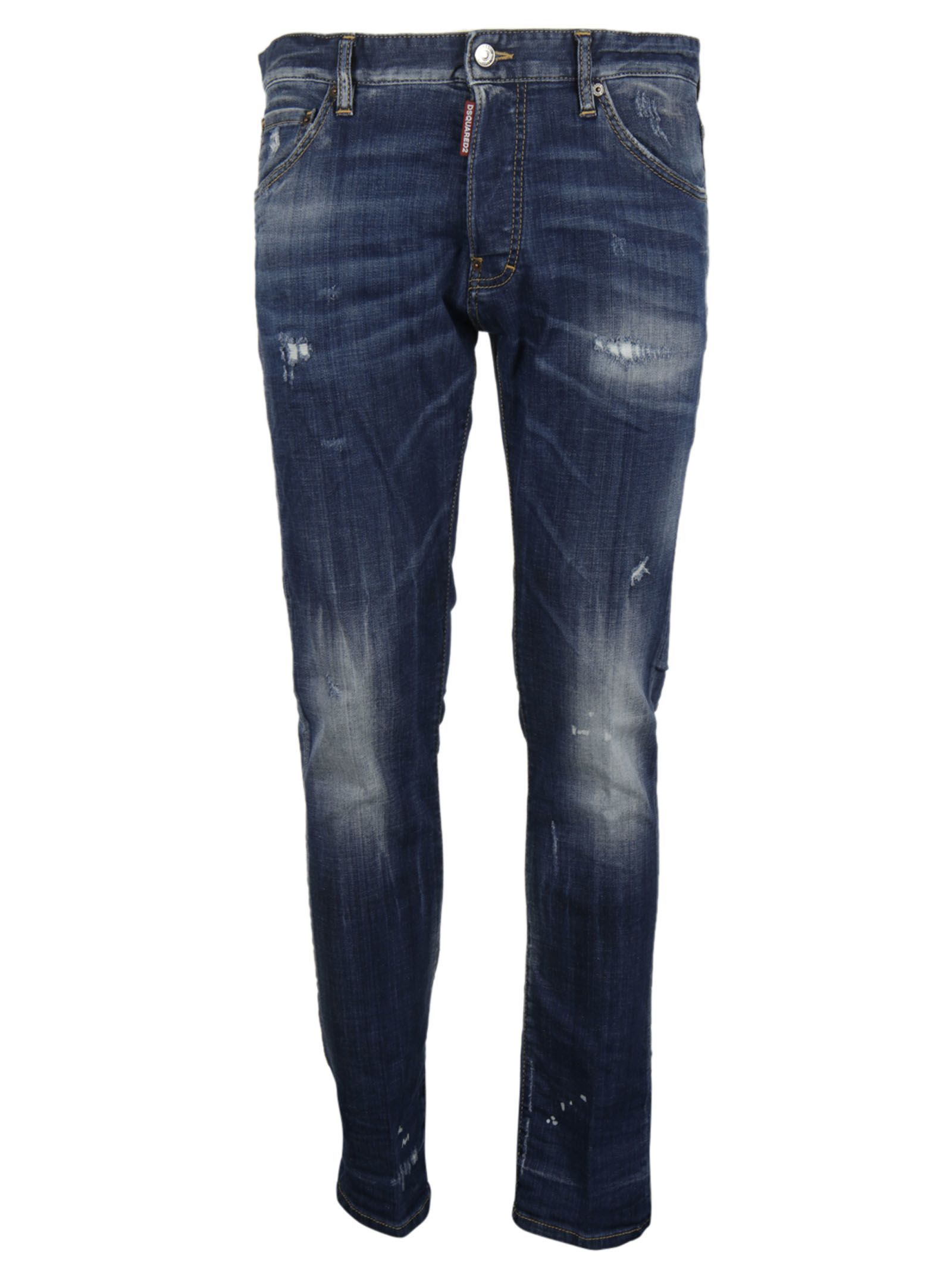 Dsquared2 Cool Guy Lightly Distressed Jeans