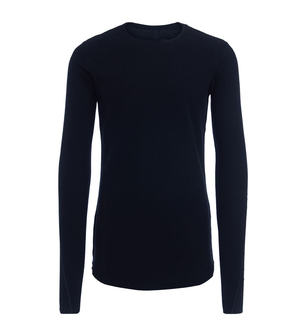 Thom Krom Black Raw Cut Fleece
