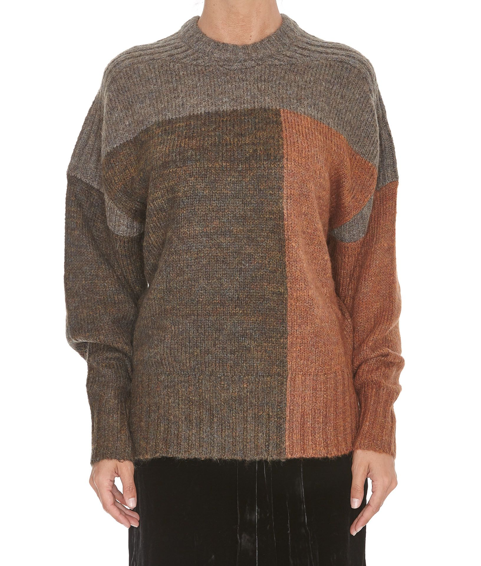 isabel marant etoile isabel marant etoile davy sweater rust women 39 s sweaters italist. Black Bedroom Furniture Sets. Home Design Ideas