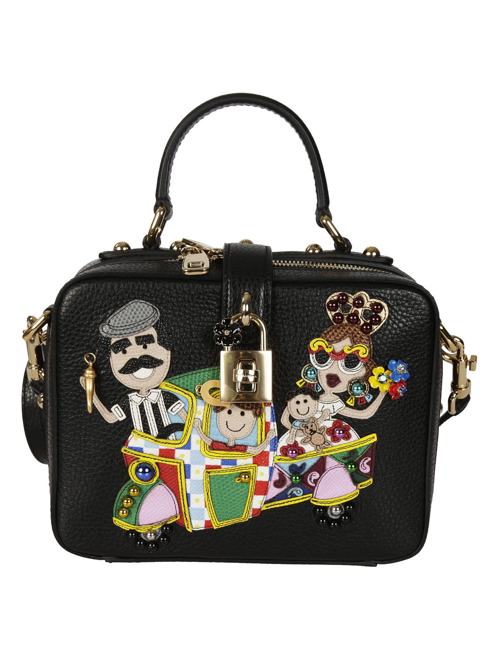 Dolce & Gabbana Patch Detail Shoulder Bag