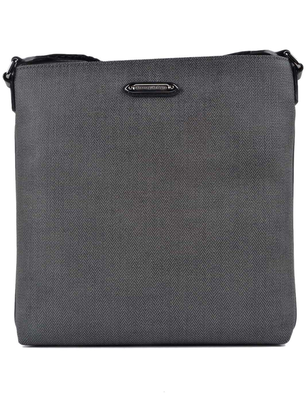 Ermenegildo Zegna Herringbone Shoulder Bag