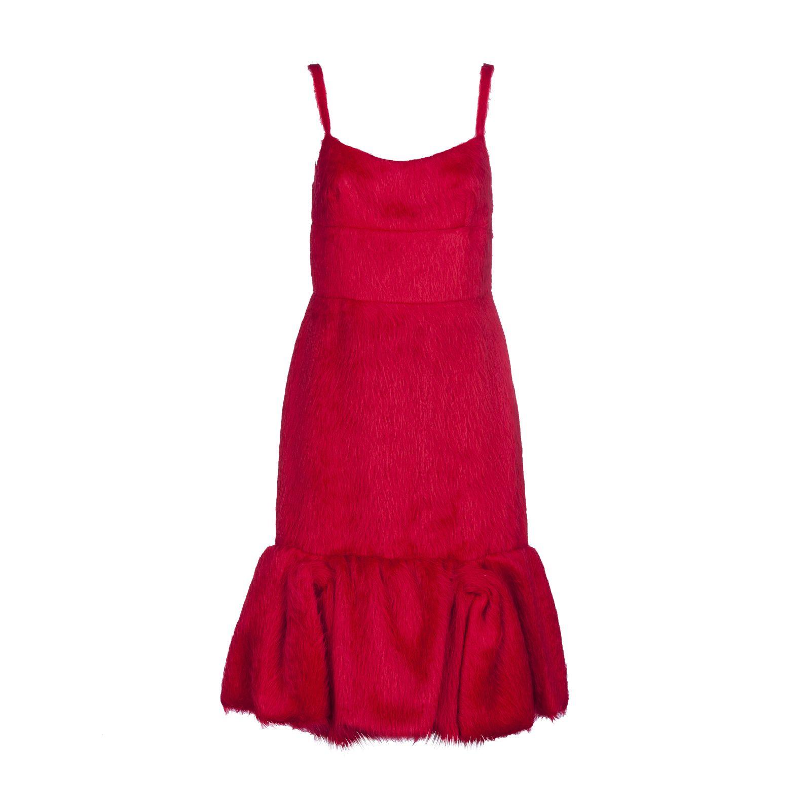 Prada Fluffy Dress