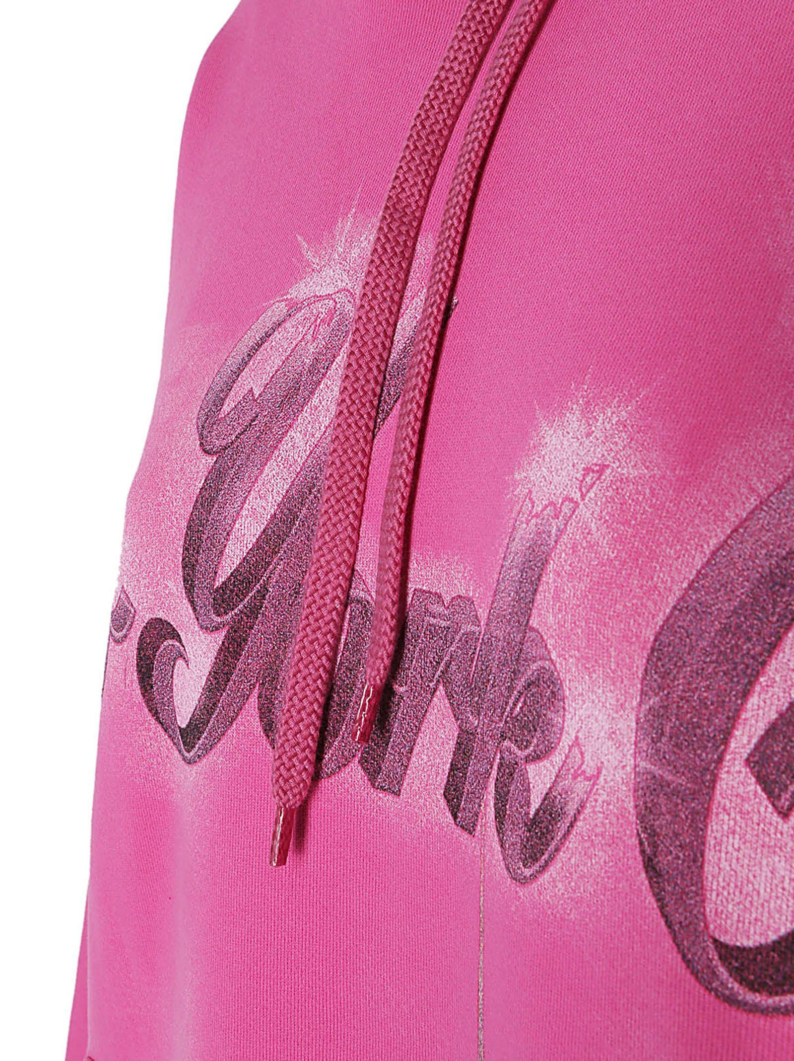 balenciaga hoodie womens pink